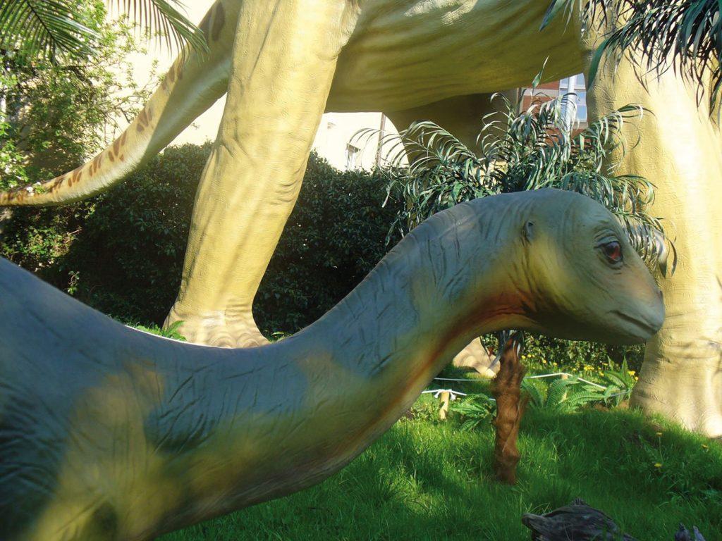 Urwelt-Museum Oberfranken Dinosaurierfigur